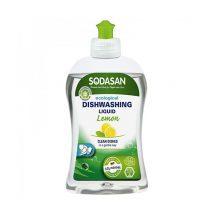 Detergent lichid ecologic pentru vase cu lamaie Sodasan