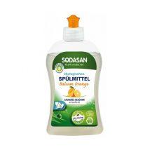 Detergent lichid ecologic pentru vase cu portocale Sodasan