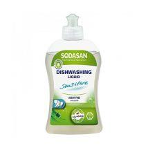 Detergent lichid ecologic pentru vase sensitiv Sodasan