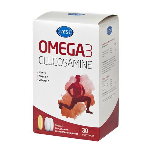 Omega-3 Glucosamine si chondroitin Lysi