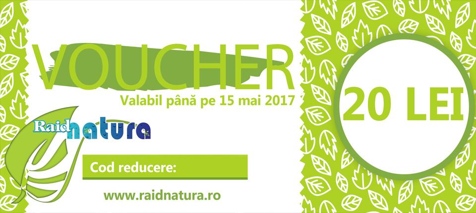 Promoţia-VOUCHERELE DE LA RAID NATURA