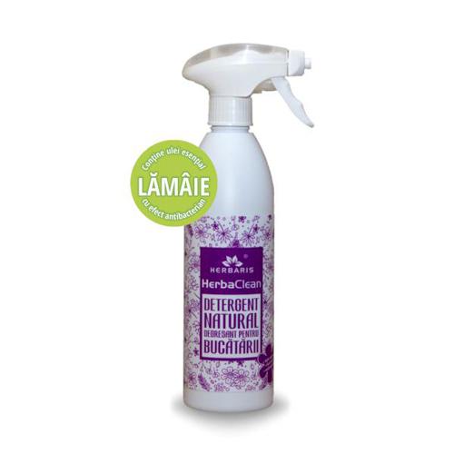Detergent degresant natural pentru bucătării cu Lămâie, Herbaris