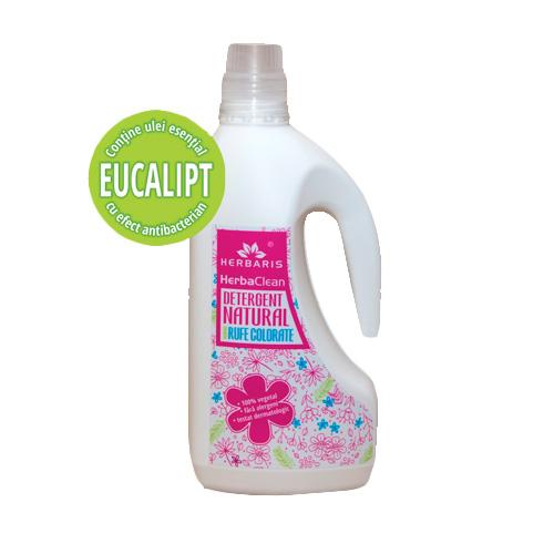 Detergent natural pentru rufe colorate cu Eucalipt, Herbaris